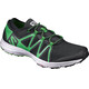Salomon M's Crossamphibian Shoes black/black/classic green
